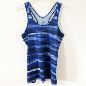 Nike Dri-Fit Racer Back Running Tank